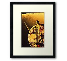earth queen  Framed Print