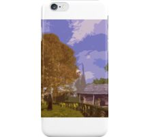 Country Cabin iPhone Case/Skin