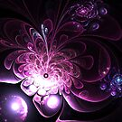 Lighten Up - Abstract Fractal Artwork by EliVokounova