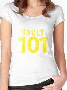 Vault 101 Women's Fitted Scoop T-Shirt