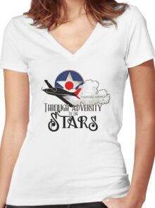 Tuskegee Airmen Women's Fitted V-Neck T-Shirt