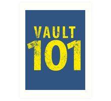 Vault 101 Art Print