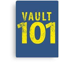 Vault 101 Canvas Print
