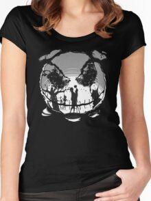 The Pumpkin Kiss Women's Fitted Scoop T-Shirt