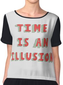 Time Is An Illusion Chiffon Top