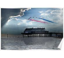 Red Arrows at Cleethorpes Poster