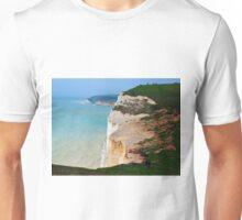 Seven Sisters Cliffs, East Sussex Unisex T-Shirt