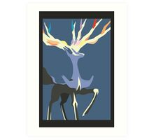 Minimalist Xerneas Art Print