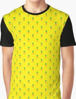 Pineapple Pattern Graphic T-Shirt