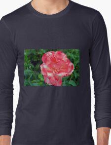 Macro on beautiful pink flower in the garden. Long Sleeve T-Shirt