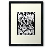 Viking Metal Framed Print