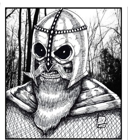 Viking Metal Sticker