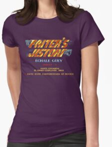 Fighter's History - Title Screen Spoof Womens Fitted T-Shirt
