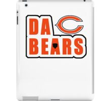 custom design DA BEARS (chicago bears) iPad Case/Skin
