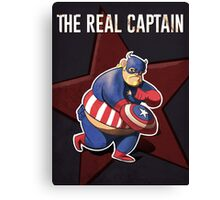 The real captain america Canvas Print