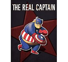 The real captain america Photographic Print