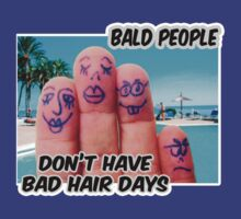 Bald is COOL ;) by Maria  Gonzalez
