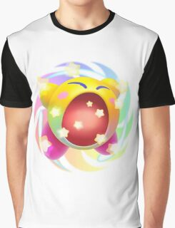 Rainbow Kirby - Kirby Graphic T-Shirt