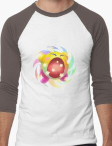 Rainbow Kirby - Kirby Men's Baseball ¾ T-Shirt