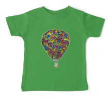 Festival Ballooning - baby Keith Baby Tee