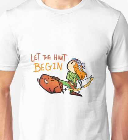 Smite - Let the hunt begin (Chibi) Unisex T-Shirt