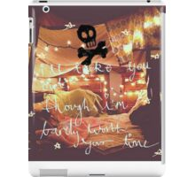 Pillow talk with all time low iPad Case/Skin
