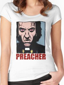 Preacher is mad Women's Fitted Scoop T-Shirt