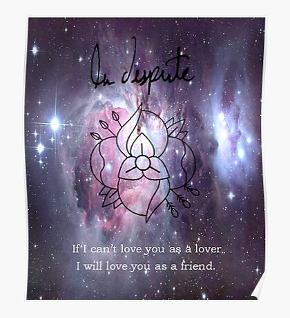 A universe of La Dispute Poster