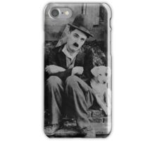 charlie chaplin dog iPhone Case/Skin