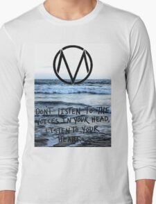 The Maine take a trip to the seaside Long Sleeve T-Shirt