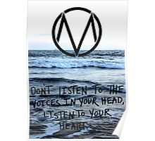 The Maine take a trip to the seaside Poster