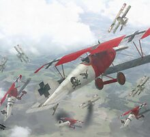 WW I - Air Combat 4 by A. Hermann