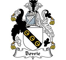 Bowie Coat of Arms / Bowie Family Crest Photographic Print