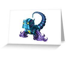 The fastest Fluxbot around, Dash Greeting Card