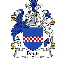 Boyd Coat of Arms / Boyd Family Crest Photographic Print