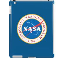 NASA Astronaut Training Program iPad Case/Skin