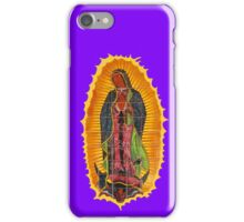 Lady of Guadalupe mural iPhone Case/Skin