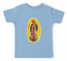 Lady of Guadalupe mural Kids Tee