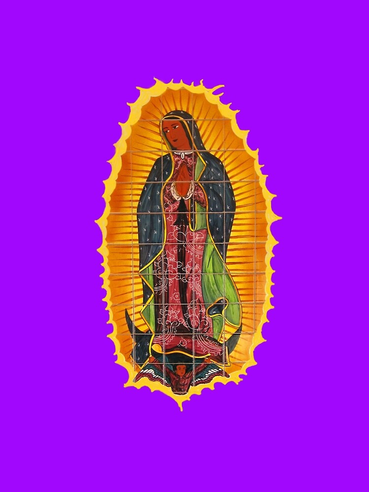 Lady of Guadalupe mural by DAdeSimone