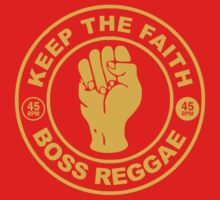 KEEP THE FATH BOSS REGGAE One Piece - Long Sleeve