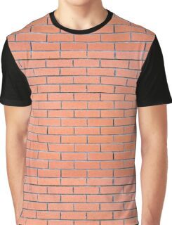 Brick wall pattern Graphic T-Shirt