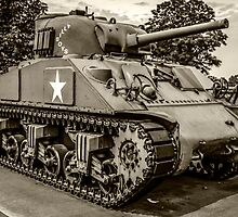Veterans Sherman Tank by Chris L Smith