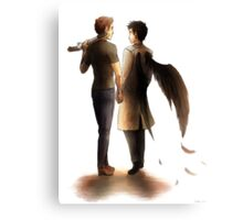 The Hunter and the Angel Canvas Print