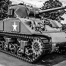 Veterans Sherman Tank by Chris L Smith