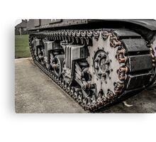 Sherman Tank Tracks Canvas Print