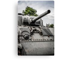 Sherman Tank Canvas Print