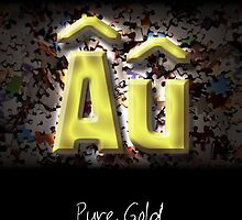 No Puzzles. Just Us. Pure Gold. by -Au-