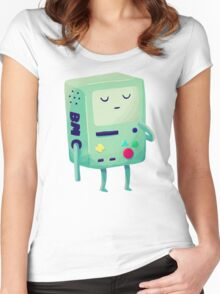 Who Wants To Play Video Games? Women's Fitted Scoop T-Shirt