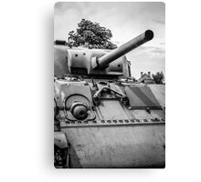 Vintage Sherman Tank Canvas Print