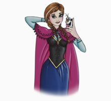 Selfie Anna from Frozen by HungryDesigns